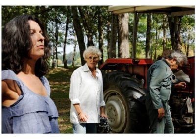 Wouaf! - Corinne Mariotto, Marie-Pierre Kholer, Michel Boujenah, le tournage