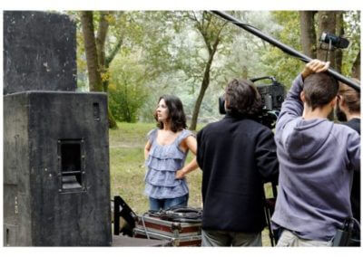 Wouaf! - Corinne Mariotto, le tournage